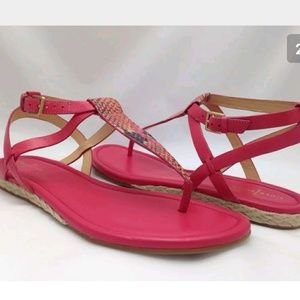 Cole haan thong sandals pink